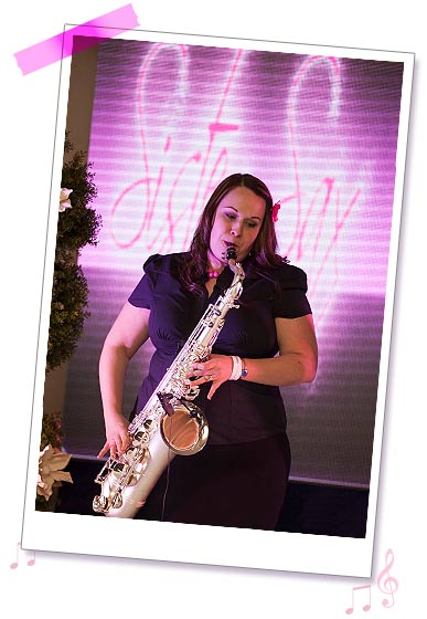 Sister Sax photo 13 - Elli at a wedding fayre